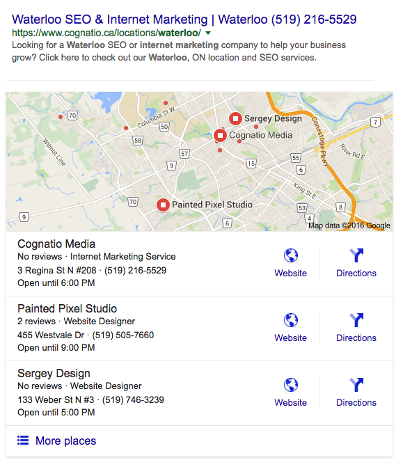 google my business optimization seo